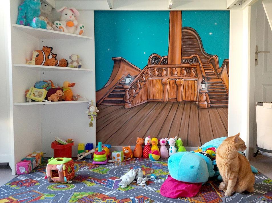 geograffeur-chambre-bateau-pont-graffiti-decoration-chat