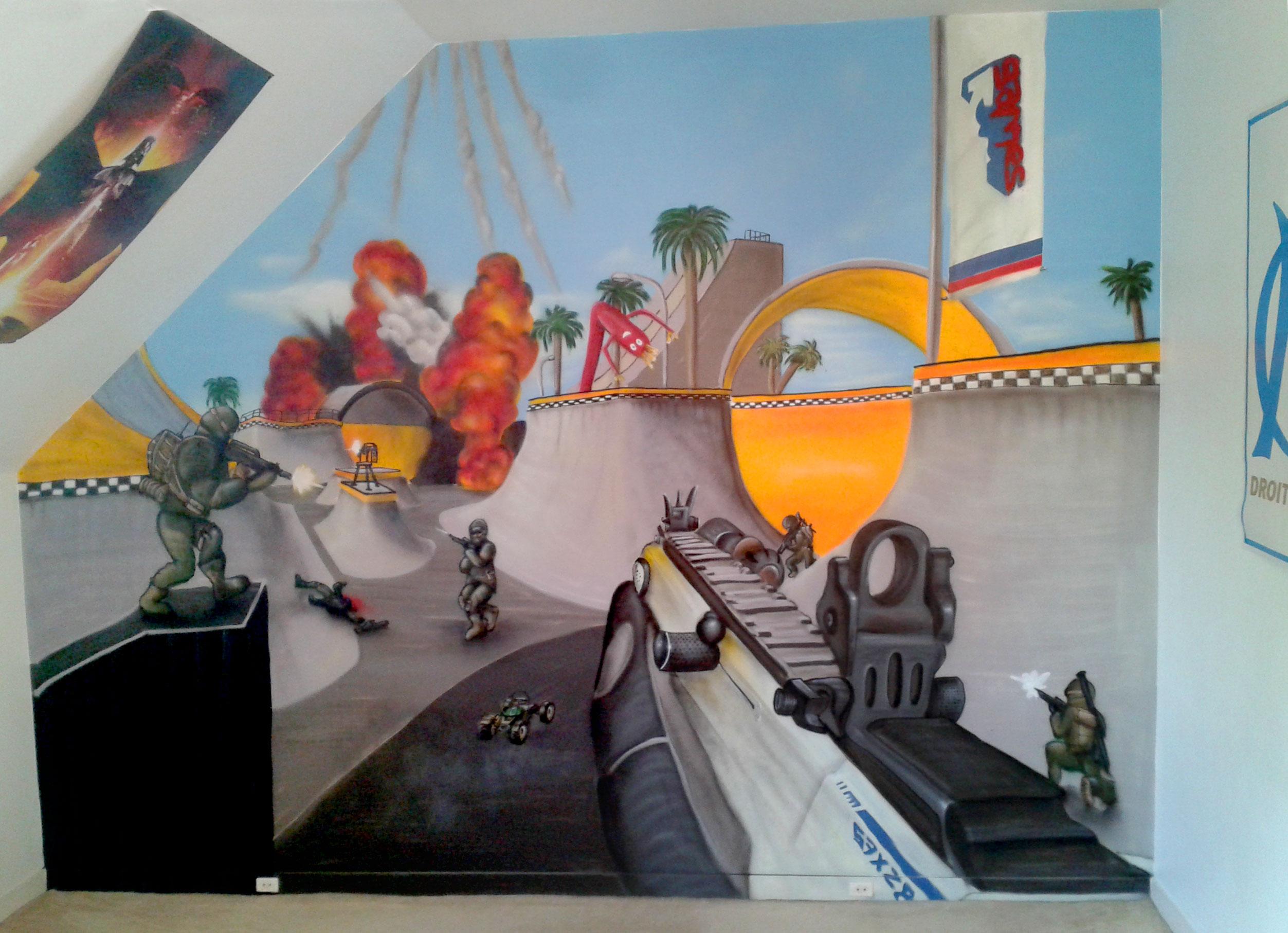 geograffeur-chambre-callofduty-call-of-duty-black-ops-4-graffiti-décoration