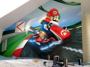 mario kart décoration