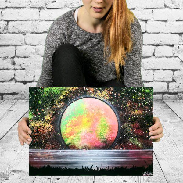 planète fluorescente geograffeur
