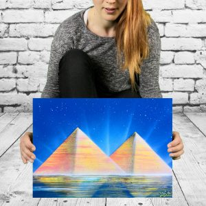 geograffeur pyramide
