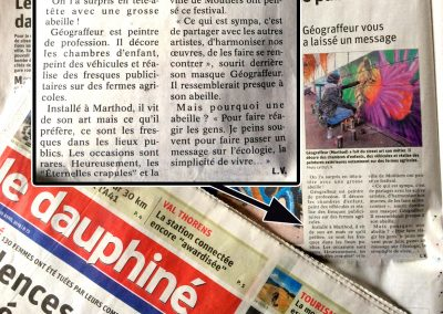 "Journal ""Le Dauphiné"" avril 2019"